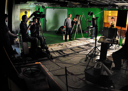 Film shooting set